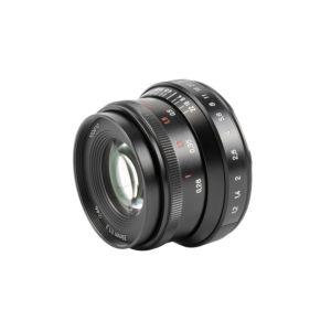 7artisans 35mm f/1.2 II Lens - Sony E (Black)